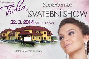 1. Společenská - Svatební show pod taktovkou Thálie