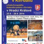 Mistrovství Evropy 2014 v Kin-ballu