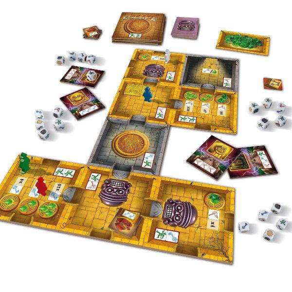 Kooperativní hra Escape: Chrámová kletba