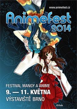 Oficiální plakát Animefest 2014
