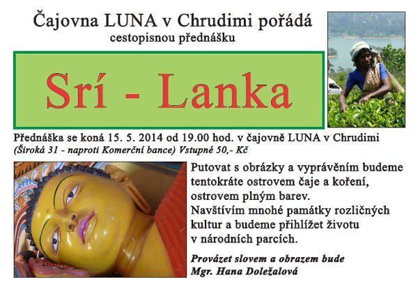 Cestopisná přednáška o Srí-Lance