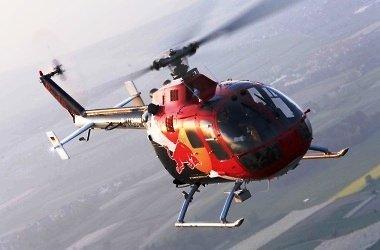 Na pardubickém letišti se objeví akrobatický vrtulník Bo 105CB.