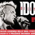 V Praze zazpívá rocková legenda – blonďatý popový Billy Idol