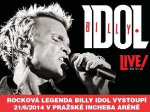 V Praze zazpívá rocková legenda - blonďatý popový Billy Idol