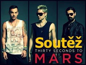Soutěž o vstupenky na Thirty Seconds To Mars
