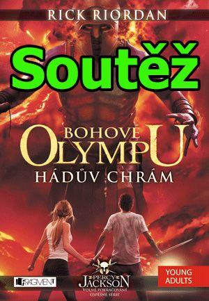 Soutěž o knihu Bohové Olympu - Hádův chrám