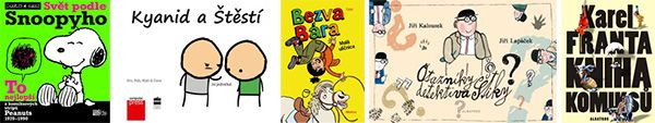 Soutěž o pět komiksů od nakladatelství ALBATROS Media