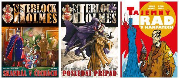 Soutěž o tři komiksy Petra Kopla