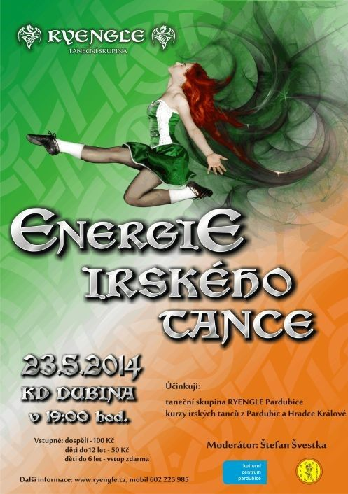 Energie irského tance 2014