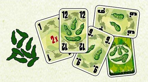 Tip na karetní hru na prázdniny - Pět okurek