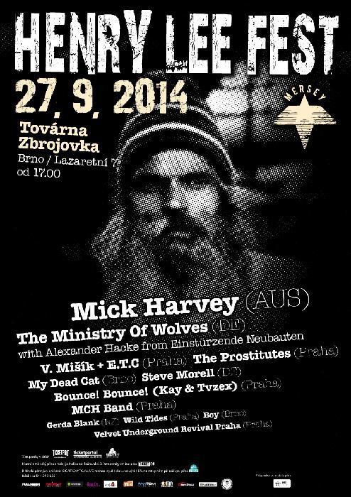 Henry Lee Fest 2014 - pozvánka