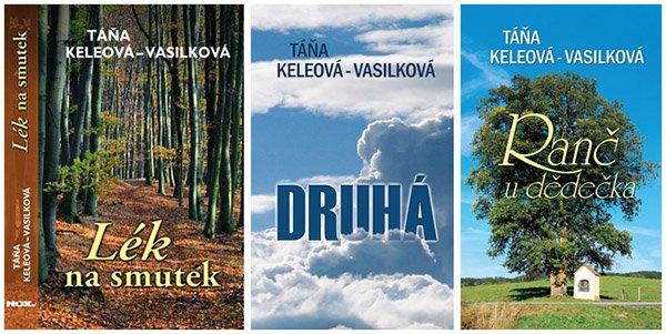 Soutěž o tři romány Táni Keleové-Vasilkové