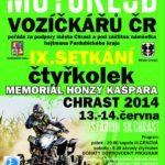 IX. setkání čtyřkolek Memoriál Honzy Kašpara Chrast 2014