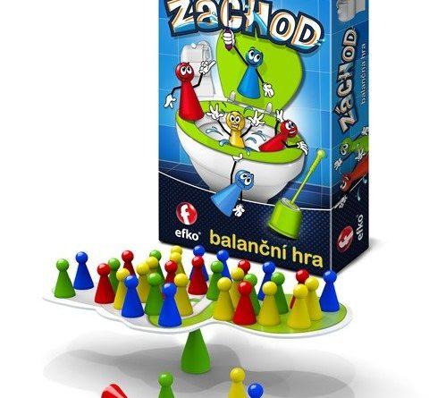 Záchod - balanční hra