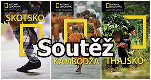 Prázdninová soutěž o tři velké průvodce National Geographic