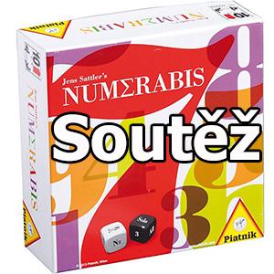 Soutěž o tři společenské hry s čísly - NUMERABIS