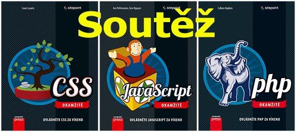 Soutěž o knihy z edice Okamžitě - CSS, PHP a Javascript