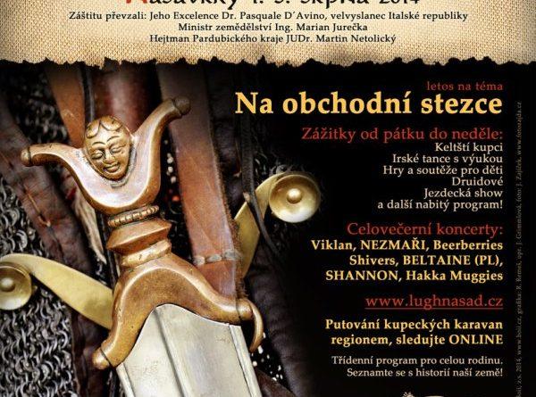 Mezinárodní festival keltské kultury Lughnasad se blíží!