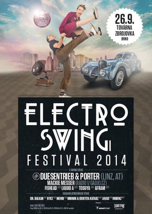Soutěž o vstupenky na 1. ročník festivalu Electroswing