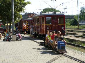 Malé mašinky v Rosicích nad Labem