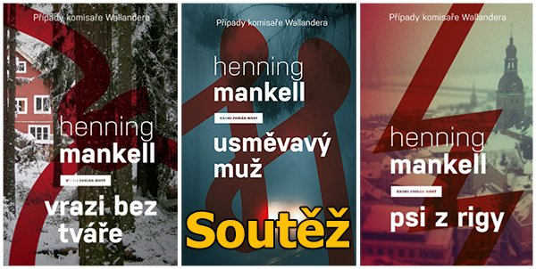 Soutěž o knihy bestsellerové série Henninga Mankella