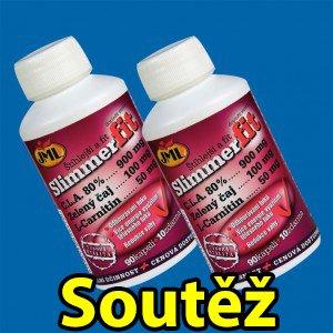 Soutěž o pět balení 1+1 doplňku stravy - JML SlimmerFit