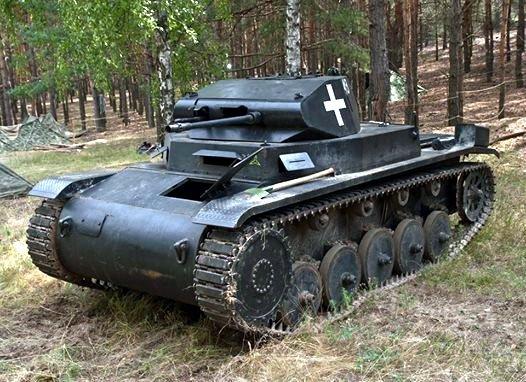 Německý tank PzKpfw