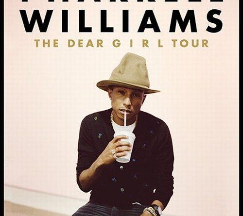 Do Prahy zavítá několikanásobný držitel ceny Grammy Pharrell Williams