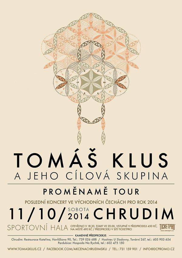 Tomáš Klus přijede v říjnu do Chrudimi