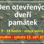 Den otevřených dveří památek