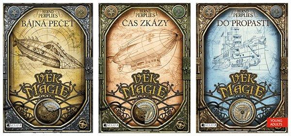 Soutěž o knižní trilogii - Věk magie
