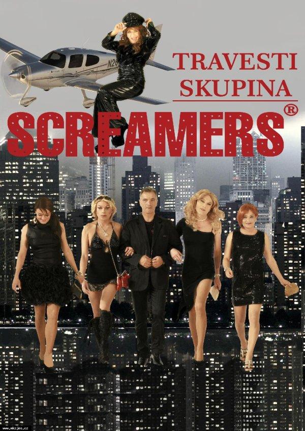 Nová show travesti skupiny Screamers - Tyjátr