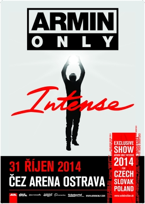 Poslední vstupenky na Armin Only Intense v Ostravě jsou v prodeji