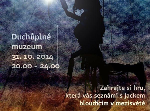 Duchůplné muzeum, plakát akce