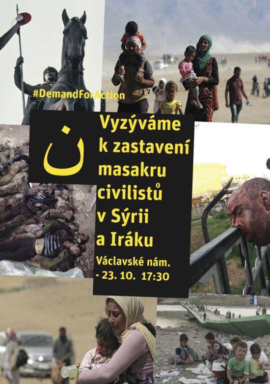 Leták Syrie