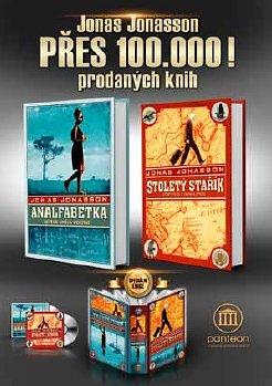 Jonas Jonasson: 100.000 prodaných knih