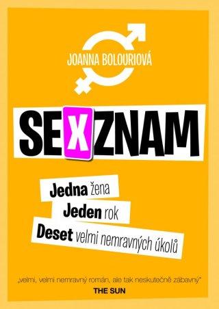Sexy, inteligentní a skandální! ... to je náš knižní tip: Sexznam