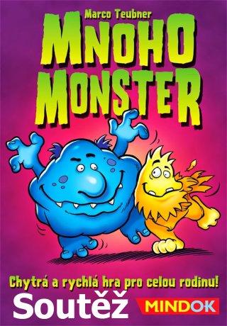 Soutěž o rodinnou hru Mnoho monster