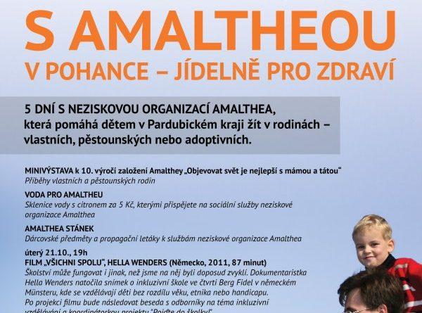 Amalthea bude celý týden v Pohance