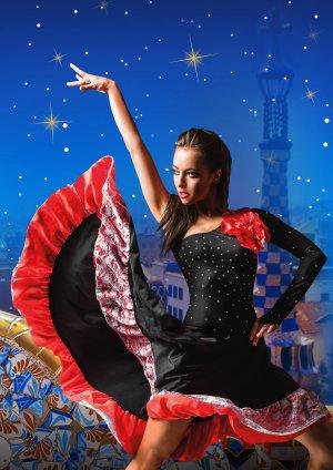 tanečnice flamengo