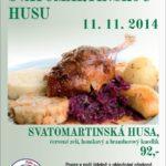 VEST – Pozvánka na svatomartinskou husu
