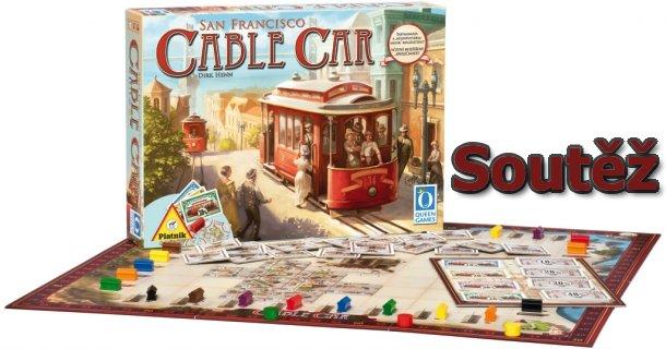 Soutěž o deskovou hru Cable Car od společnosti Piatnik