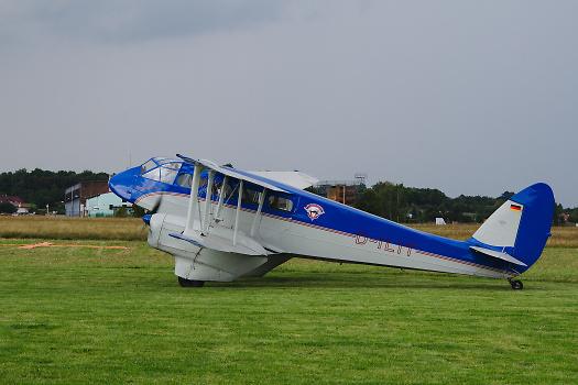 De Havilland Dragon Rapide, foto: Radovan Tůma
