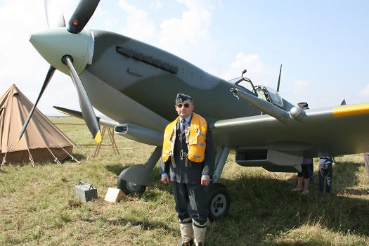 Opět Supermarine Spitfire, foto: Archiv Chrudim