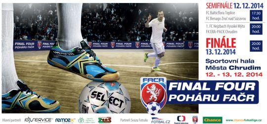 Final Four poháru FAČR v Chrudimi
