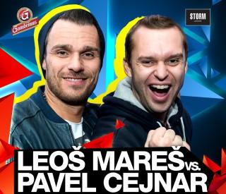 Leoš Mareš vs. Pavel Cejnar na vánoční mega diskotéce v Pardubicích