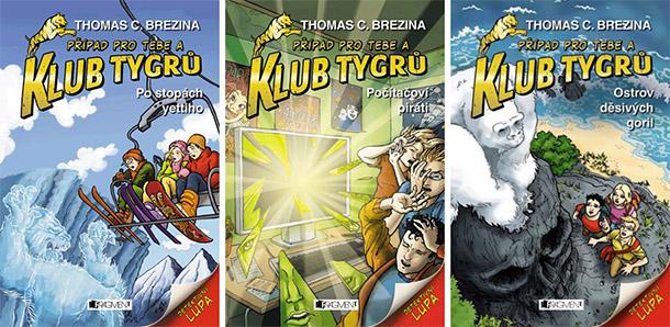 SOUTĚŽ o tři knihy z edice KLUB TYGRŮ