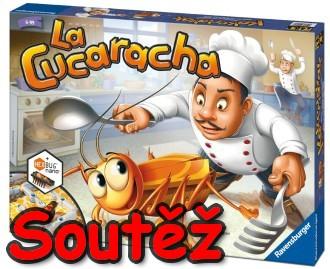 SOUTĚŽ o dětskou stolní hru LA CUCARACHA