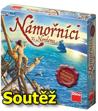 SOUTĚŽ o strategickou deskovou hru Námořníci z Nordenu