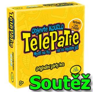 SOUTĚŽ o originální párty hru TELEPATIE od ALBI